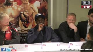 Ohara Davies lays down the law on attending pressers on time!