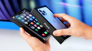 iPhone 13 & 13 Pŗo Unboxing, Größenvergleich & Gewinnspiel!