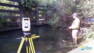 cbec eco engineering using HyDrone-RCV with Trimble Total Station