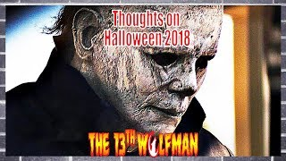 Thoughts on Halloween 2018