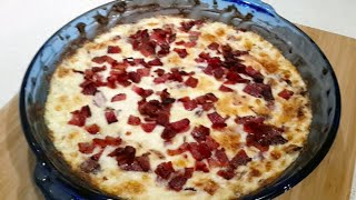 Caramelised Sweet Onion Dip. Plus Low Carb Cracker Review