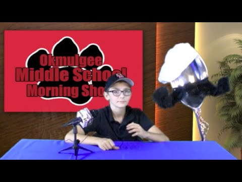 Okmulgee Middle School Morning Show Oct. 13, 2014 Episode 9