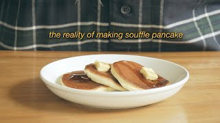 soufflé pancake  the reality of making soufflé pancakes