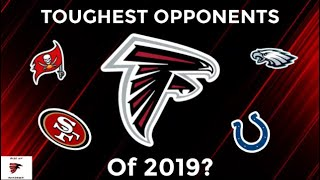 Who Are The Falcons' TOUGHEST Opponents In 2019? | Rise Up Rundown