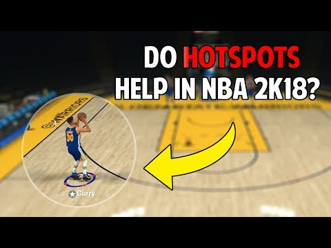 How Effective Are Hot Spots In NBA 2K18! Testing If They Help You Shoot Better!
