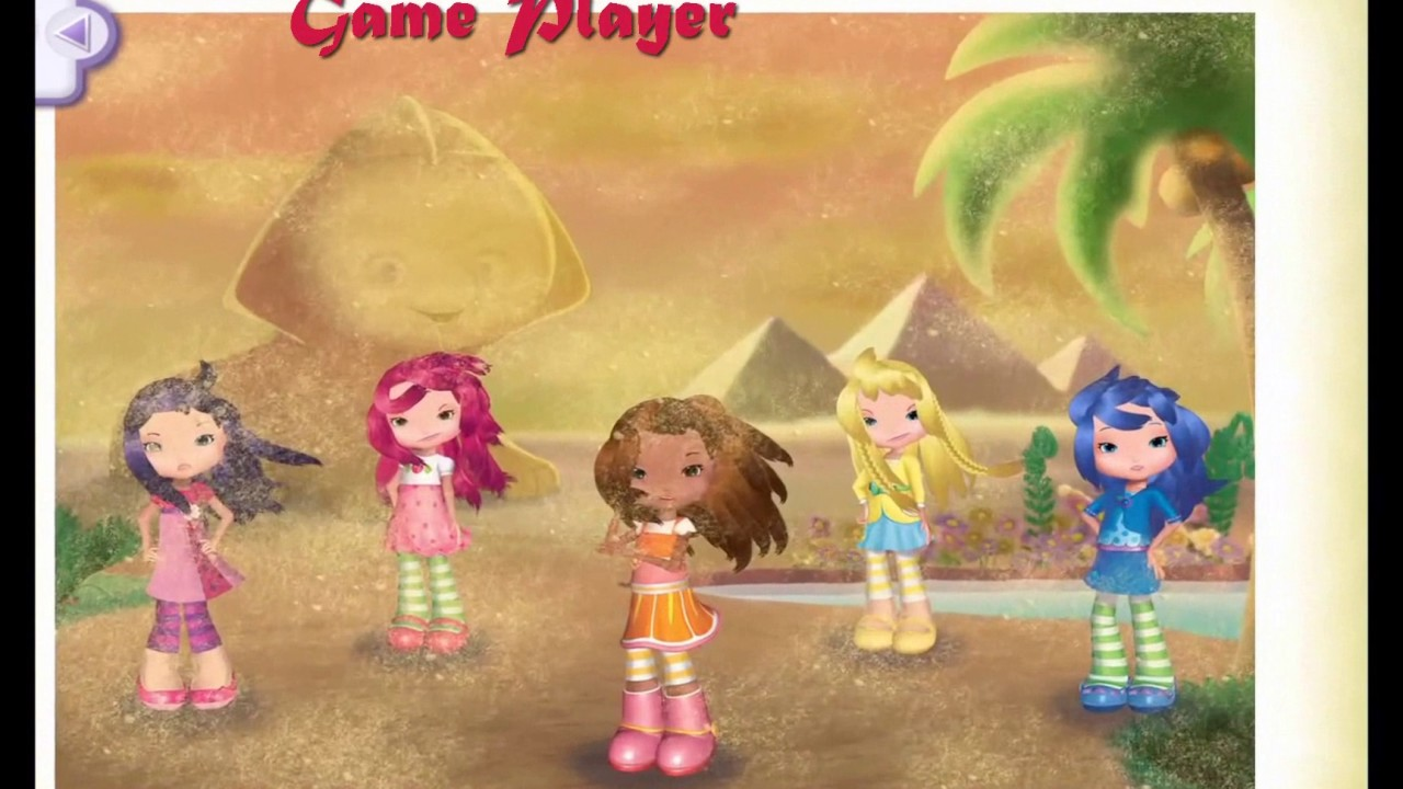 Strawberry Shortcake Holiday Hair Fashion World Cairo City Game Player