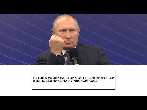 Путина удивила стоимость