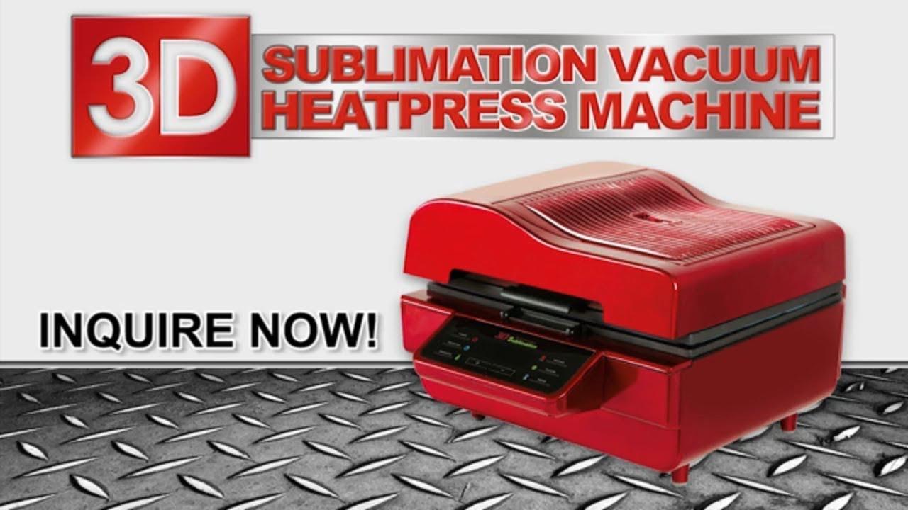 be009538353 3D Sublimation Vacuum Heat Press Machine - YouTube