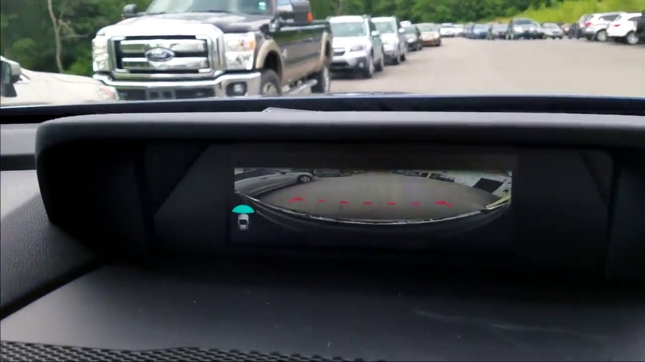 180 Degree Front View Camera In 2019 Subaru Ascent Youtube