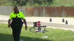Woman riding bike killed in single car crash in Davie