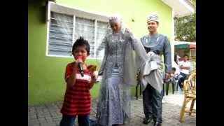 Majlis Perkahwinan Azlan & Aida Haniff 24/6/12 @ karaoke by Along DJ...