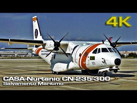 CASA Nurtanio CN-235 300 Salvamento Maritimo [4K]
