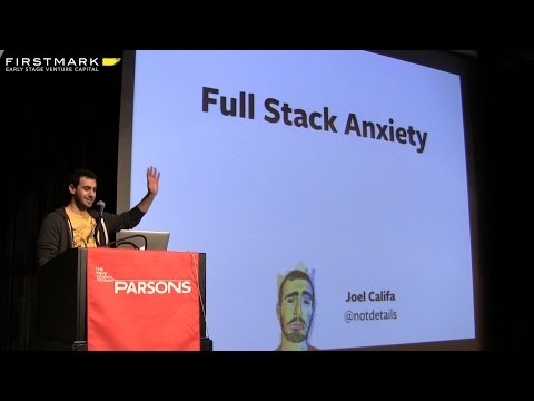 Full Stack Anxiety: A Framework for Learning // Joel Califa, DigitalOcean
