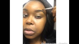 Barely there glowy look for brown skin | shayla Phillips