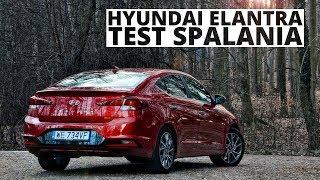 Hyundai Elantra 1.6 MPI 128 KM (AT) - pomiar zużycia paliwa