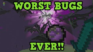 Minecraft Xbox Top 5 WORST BUGS EVER