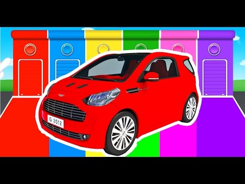 Thumbnail: Car Colors for Kids - Learning Educational Video & Learn Vechicles - Children Nursery Rhymes