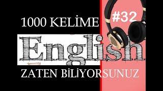 BBİ -ingilizce eğitim BİLDİĞİNİZ İNGİLİZCE KELİMEL