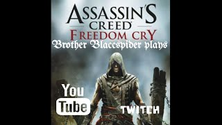 What I'm playing now..Assassins Creed Freedom Cry #Roadto1000trophies