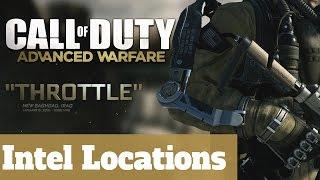Mission 13 Throttle - All Intel Locations - Call of Duty Advanced Warfare