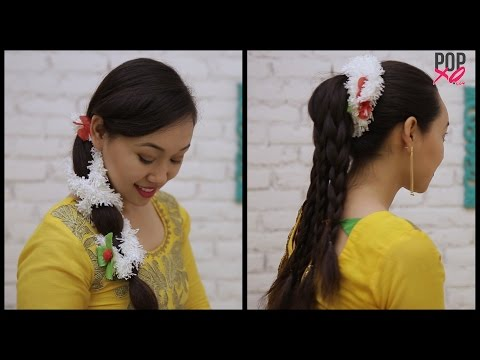 2 Ways To Wear A Gajra This Shaadi Season | Wedding Hairstyles with Flowers