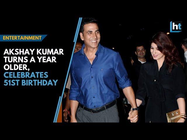 Akshay Kumar turns a year older, celebrates 51st birthday with wife Twinkle Khanna