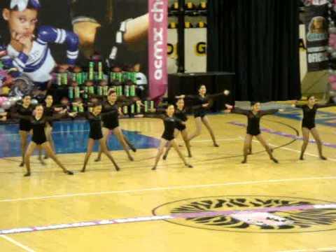 MDS (Peewee Jazz) Cheer Dance ACMX 2012 Guadalajara