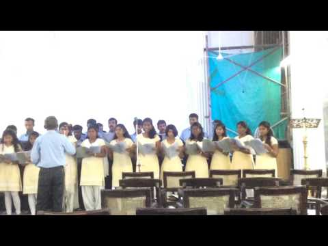 St.Pauls Tamil Church choir - The Lord is my Strength and my song(Anthem)