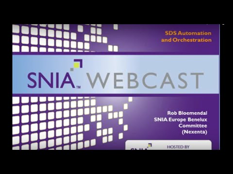 SNIA SDS Approach With Rob Bloemendal