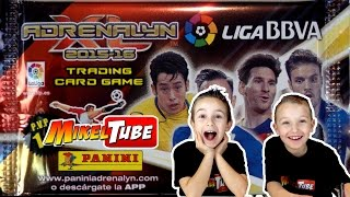 Video Apertura Adrenalyn XL cromos de Fútbol de PANINI en Español download MP3, 3GP, MP4, WEBM, AVI, FLV September 2017