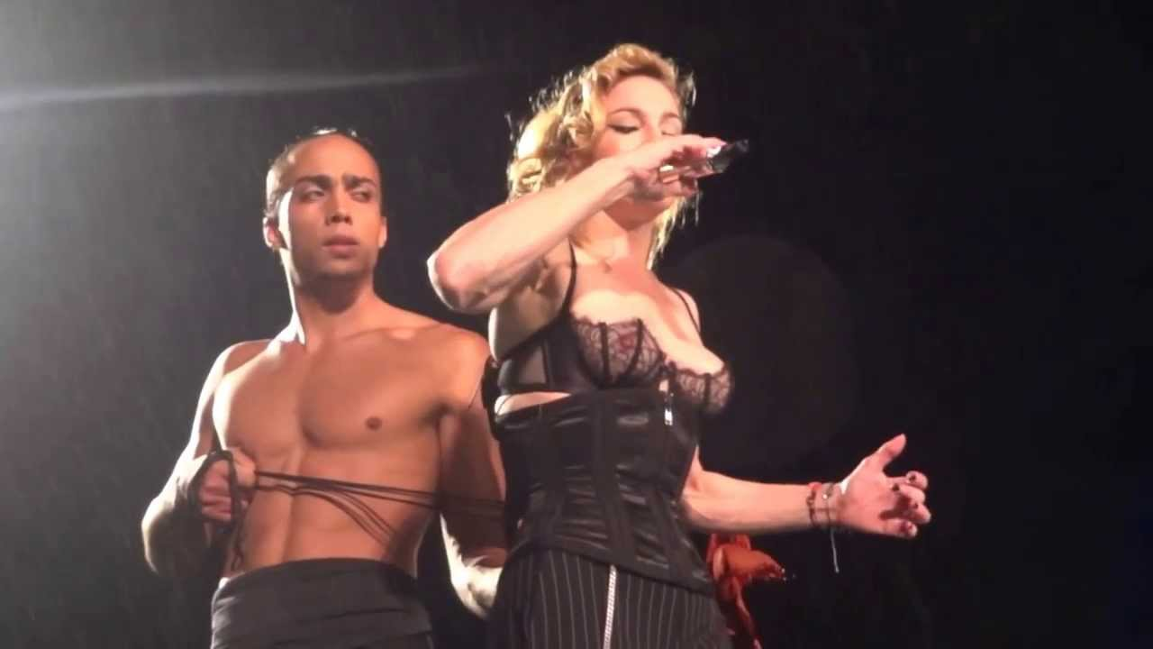 Madonna the singer naked