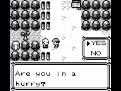 Pokemon Blue Cheat Code - Unlimited Items