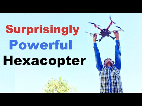Surprisingly Powerful Hexacopter YOU MUST SEE