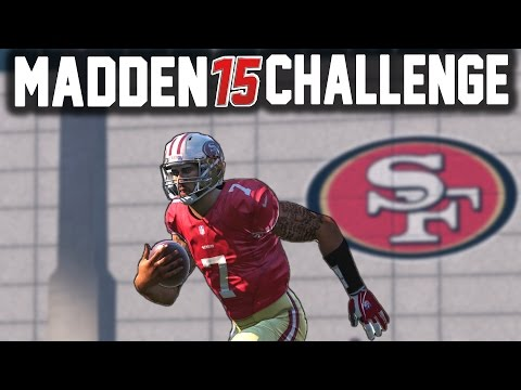 Can I Recreate Colin Kaepernicks 90 YD TD Run? - Madden 15 NFL Challenge