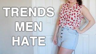Top 8 Beauty Trends Men Hate!