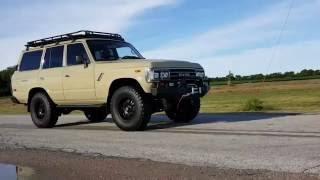 Classic 1989 Toyota FJ62 V8   9 Months  ntensive Restoration