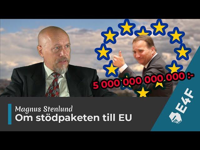 Magnus Stenlund om de ekonomiska stödpaketen till EU