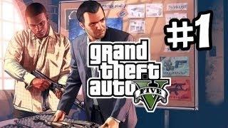 GTA 5 На PC от первого лица Прохождение на русском - Часть 1