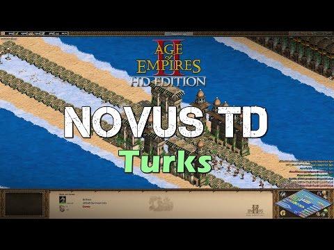 Novus TD (Tower Defense) #3: Turks | Age of Empires 2 HD Custom Scenario Multiplayer