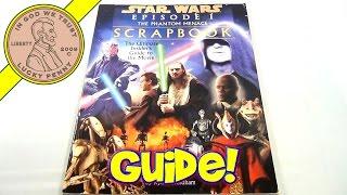 Star Wars Episode I The Phantom Menace Scrapbook, 1999 - Ultimate Insider