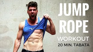 Jump Rope Workout - 20 Min. Tabata