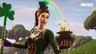 Fortnite Sgt. Green Clover Rare Skin + Pickaxe