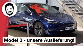 Tesla Model 3 Auslieferung in Deutschland! So war es bei uns!