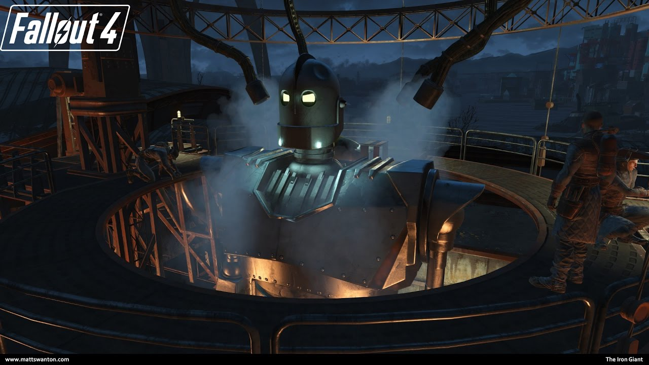 Iron Giant In Fallout4 YouTube
