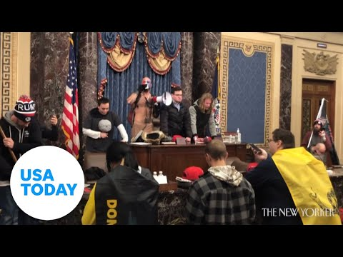 Shocking video from Capitol siege shows rioters prepared for violence   USA TODAY