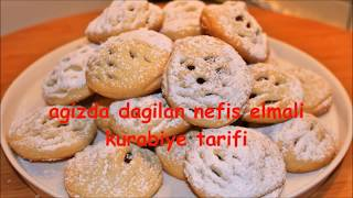 KIYIR KIYIR elmalı kurabiye  tarifi