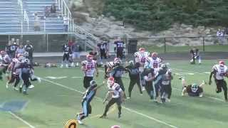 2013 NEFL Week 8: New Hampshire Wolfpack 0, Southern Maine Raging Bulls 21.