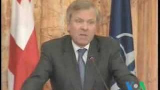 Генеральный секретарь НАТО Яап де Хооп Схеффер о Грузии