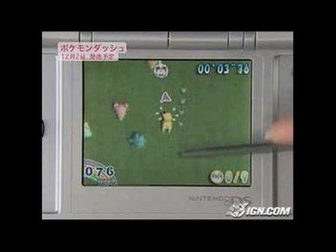 Pokemon Dash! Nintendo DS Gameplay