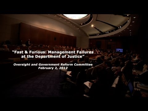 Fast and Furious: Management Failures at the Department of Justice - Part 2